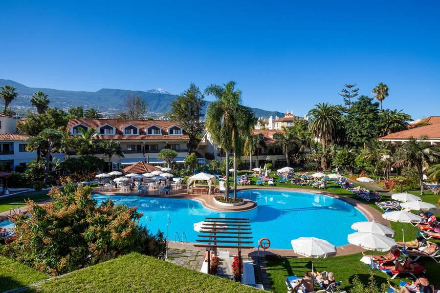 Sol parque san antonio puerto de la cruz tenerife on the beach - Hotel sol puerto de la cruz ...