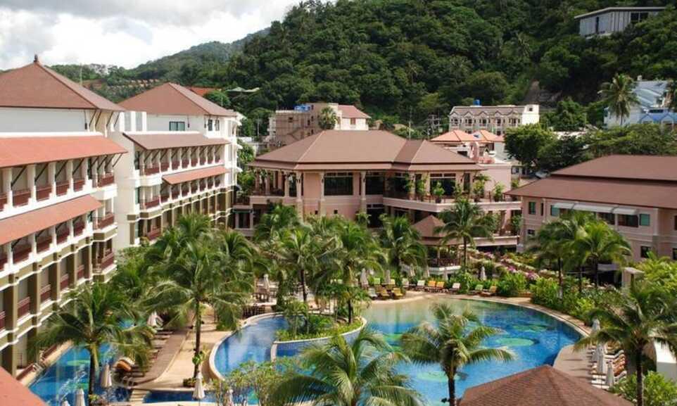 Alpina Phuket Nalina Resort Spa Kata Phuket On The Beach - Alpina phuket nalina resort and spa