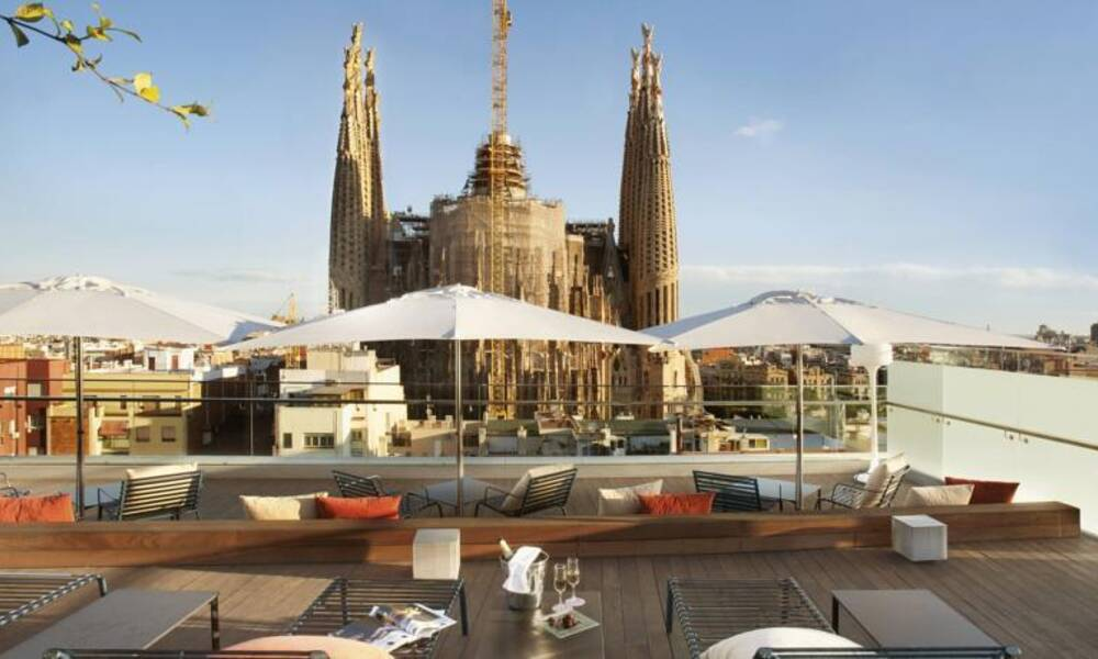 Ayre hotel rosellon barcelona barcelona on the beach for Hotel regas barcelona