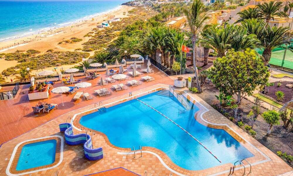 Sbh Crystal Beach Costa Calma Fuerteventura On The Beach