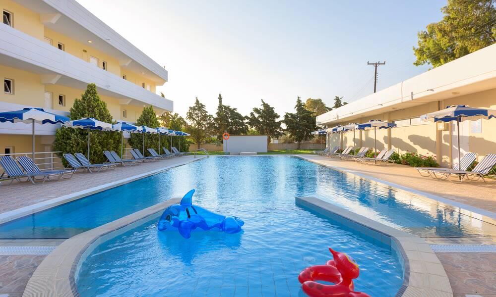 Hotel MEMPHIS BEACH - Rhodos - YouTube
