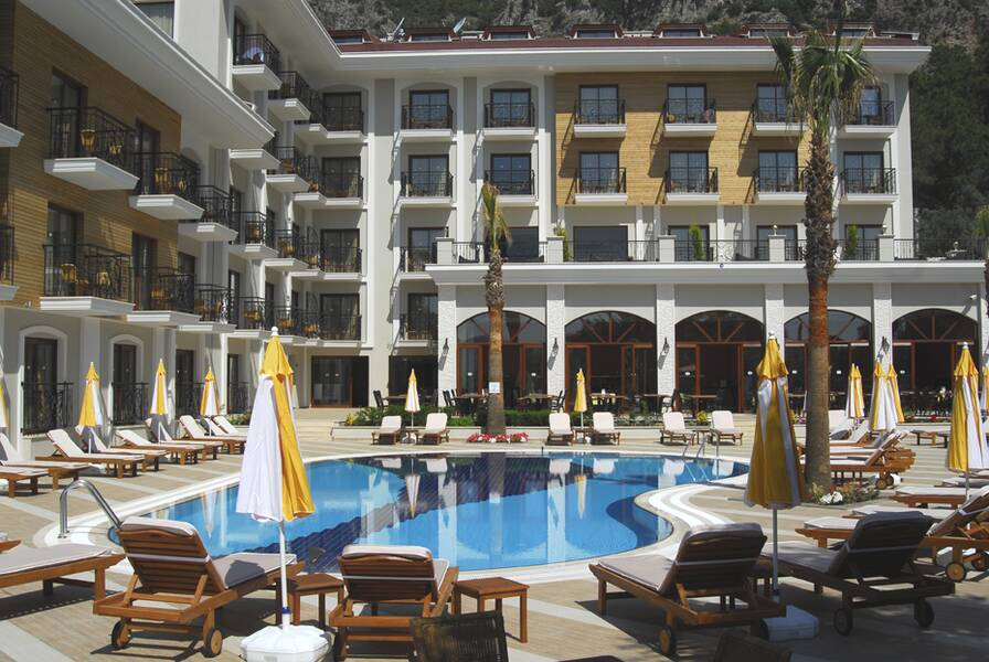 Meril boutique hotel marmaris dalaman on the beach for Boutique hotels uk