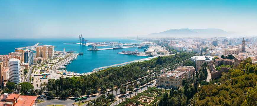 Reis på ferie til Malaga